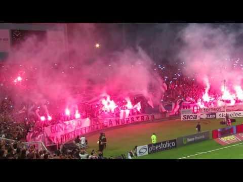 Recibimiento espectacular en River 2 Boca 0, Mar del Plata 2017 - Los Borrachos del Tablón - River Plate