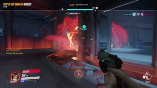 Dva ult kills entire enemy team to win