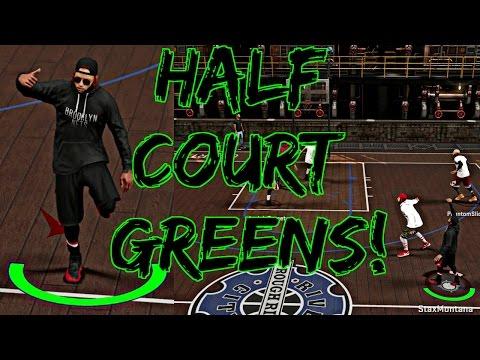 NBA 2K17 MyPark - HALF COURT GREENS DROPPING FROM DEEP! | RUNNING UP THE STREAK W/ PHANTOM SLICE! (видео)