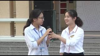 """Tuyên truyền """"Vì một học đường không ma túy"""" tại THPT Uông Bí"""
