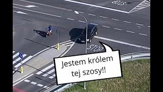 Policja za pomocą drona wyłapuje kierowców ignorujących znak STOP