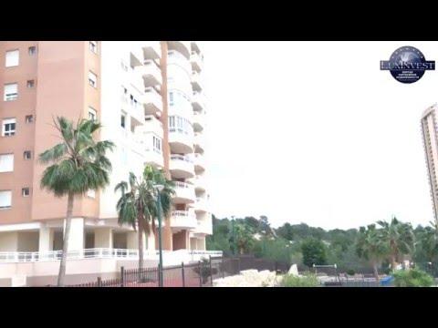 Квартира с видом на море в Бенидорме. Недвижимость в Испании