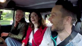 Lorde and Jono, Ben and Sharyn from The Edge radio station surprised her biggest Kiwi fan with a ride to school!