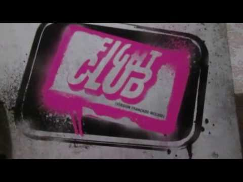 Fight Club Blu Ray Unboxing In