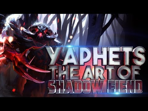YAPHETS (PIS), THE ART OF SHADOW FIEND - DOTA 2