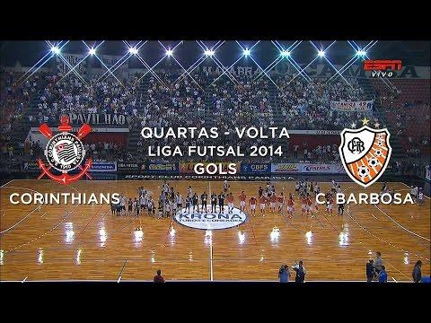 Carlos Barbosa - Confira - http://www.portala8.com Siga - http://twitter.com/sovideoemhd Curta - http://facebook.com/sovideoemhd LIGA FUTSAL 2014 Quartas de Final - Jogo Volt...