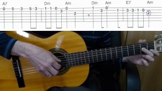 Download Lagu Катюша - мелодия на гитаре + табы Katyusha Guitar melody + TAB Mp3