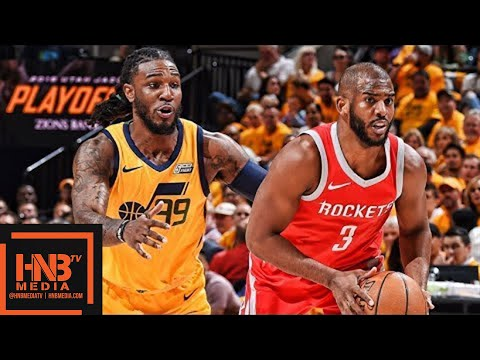 Utah Jazz vs Houston Rockets Full Game Highlights / Game 4 / 2018 NBA Playoffs