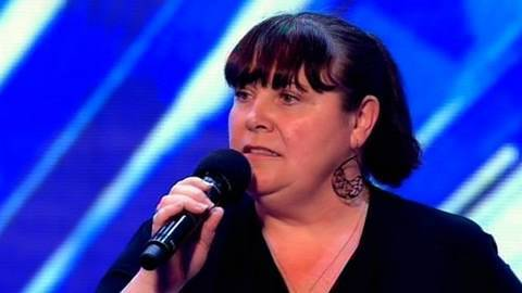 Mary - The X Factor 2010: 50-year-old supermarket worker Mary always sings at the tills - to the point that the staff keep telling her to shut up! Here for a chance...