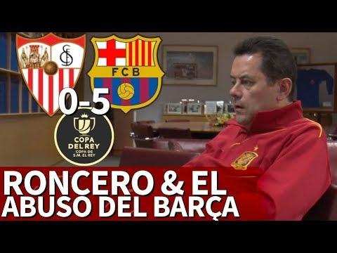 Sevilla 0-5 Barcelona  Roncero y los goles del Barça en la Final de Copa 2018  Diario AS