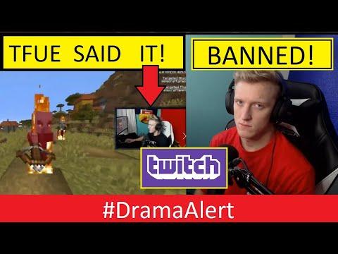 TFUE perma BANNED on TWITCH? #DramaAlert (FOOTAGE) - KSI vs Logan Paul !