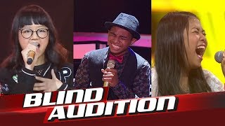 Video Top 10 Best Blind Audition The Voice Kids Indonesia 2017 MP3, 3GP, MP4, WEBM, AVI, FLV Oktober 2018