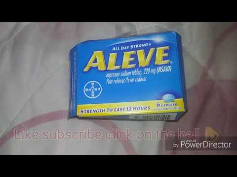 Aleve pain reliever review