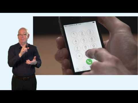NGT Lite - iOS linking your number, BSL (2 of 4)