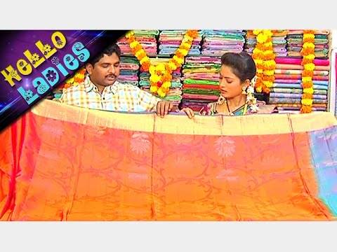 Latest-Collections-of-Avanthika-Kanchi-Pattu-and-Designer-Sarees-Hello-Ladies-Vanitha-TV-08-03-2016