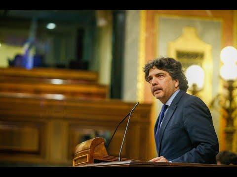 Intervención de Mario Garcés en el Pleno del Congr...