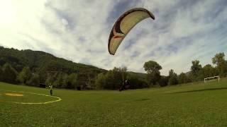 متعة الطيران المظلي في البوسنة