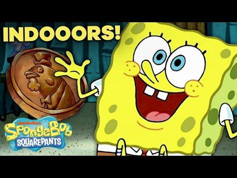 "SpongeBob Stays ""Indoors"" 🎵 ""I Had an Accident"" Episode in 5 Minutes!"