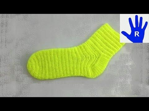 """Häkeln – Socken aus der """"Masche to go"""" Häkelsocken"""