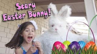 SCARY EASTER BUNNY & EGG HUNT! Haircut Prank Gone Wrong!