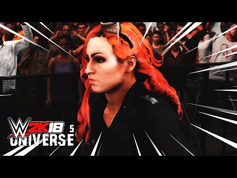 WWE 2K18 Universe Mode Ep 5 - Controversial #1 Contender's Match!