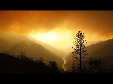 Eerie aftermath of Butte County fire