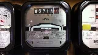 8. Sangamo Weston S200.31 Kilo watt hour meter