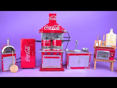 Amazing Mini Appliances made with Soda Cans