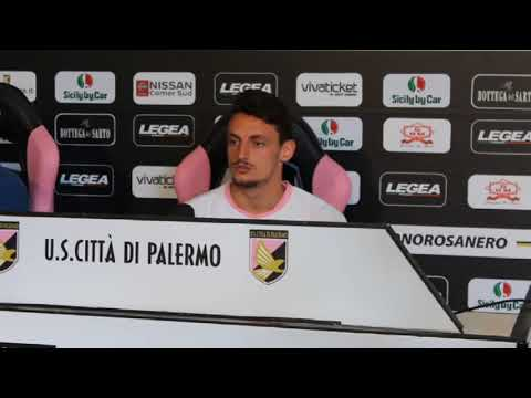 Palermo, Rolando in conferenza stampa