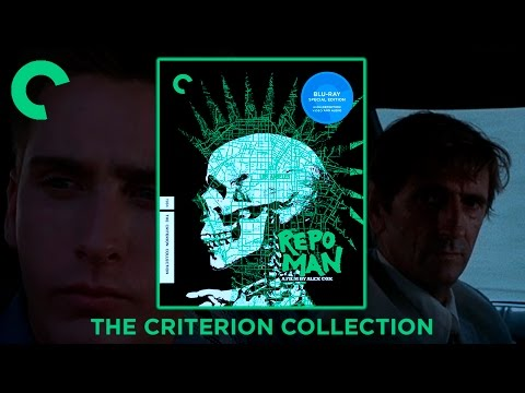 The Criterion Colleciton: Repo Man (1984) Blu-ray Digipak | Emilio Estevez | Unboxing