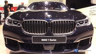 Download Lagu 2018 BMW 7 Series M760i xDrive - Exterior, Interior Walkaround - World Debut 2017 Detroit Auto Show Mp3