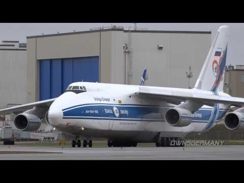 Antonov An-124 Ruslan and Boeing...