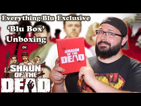 Shaun Of The Dead 'Blu Box' Edition Steelbook Unboxing (EverythingBlu Exclusive) | BLURAY DAN