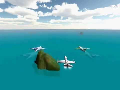 Video of 3D Infinite Airplane Flight