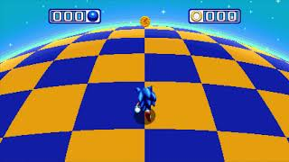 I'm making a playlist of all bonus stages (i.e. the blue sphere stages that are entered from posts) for Sonic Mania in groups of 4...