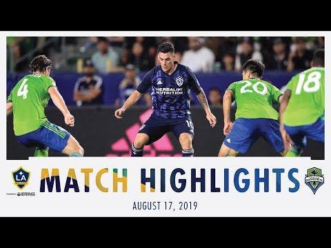 Video: HIGHLIGHTS: LA Galaxy vs. Seattle Sounders FC | August 17, 2019