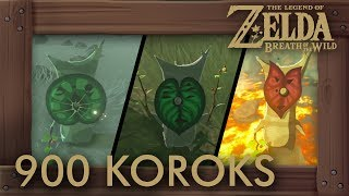 Zelda Breath of the Wild - All 900 Korok Seed Locations. This video shows you a complete guide for all 900 Koroks with map overviews and detailed locations. Timecodes are below in the description.►ZELDA: BREATH OF THE WILD - ALL KOROKS PLAYLIST: https://goo.gl/FUUIQu►Want to support? Be a Subscribear: https://goo.gl/g6fYZm►Twitter: https://twitter.com/beardbaer►Timecodes:00:00:01 - Great Plateau Tower00:13:02 - Dueling Peaks Tower00:47:45 - Hateno Tower01:33:18 - Lanayru Tower02:12:32 - Faron Tower02:49:33 - Lake Tower03:45:02 - Wasteland Tower04:21:16 - Gerudo Tower04:50:03 - Central Tower05:36:48 - Ridgeland Tower06:17:49 - Tabantha Tower06:36:39 - Hebra Tower07:17:16 - Woodland Tower07:36:11 - Eldin Tower07:59:44 - Akkala Tower08:32:54 - Hyrule Castle►Game Informations:▪ Title: The Legend of Zelda - Breath of the Wild▪ Developer: Nintendo▪ Publisher: Nintendo▪ Platform: Switch, Wii U▪ Genre: Action-adventure▪ Playtime: 25+ hours