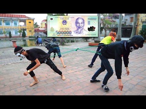 NTN - Thử  Chơi Kéo Co Cướp Tiền ( Tug Of War Money ) (видео)