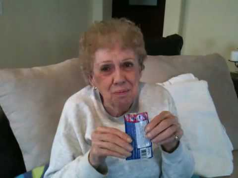 82 Year Old Gramma Tries Pop Rocks!