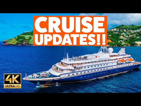 SeaDream OUTBREAK Update. PLUS CRUISE NEWS from Royal Caribbean, Princess, Carnival and more!!