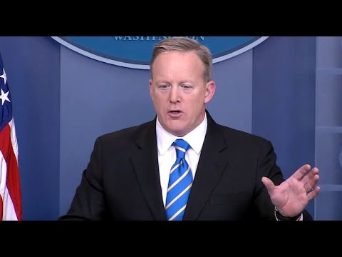 LIVE STREAM: WHITE HOUSE PRESS BRIEFING/SEAN SPICER 3-31-17