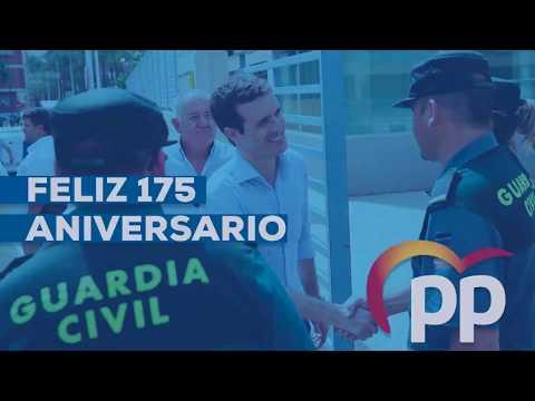 175 aniversario de la Guardia Civil