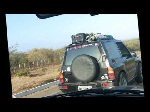 Expedição República Off Road - Jericoacoara 2013 - Fortaleza à Jijoca - 1º Deslocamento
