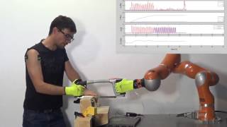 Adaptation of Robot Physical Behaviour to Human Fatigue in Human-Robot Co-Manipulation