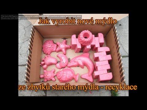 Jak vyrobit nové mýdlo ze zbytků starého mýdla - recyklace