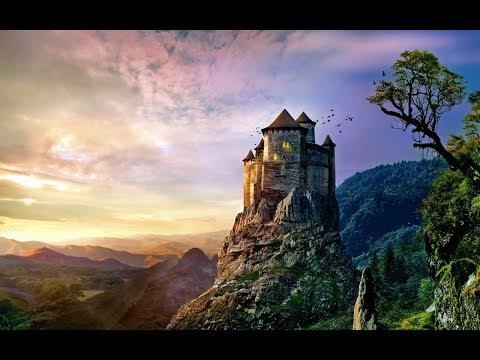 Fantasy World Contemplation (Art Slideshow for Meditation/Background Ambiance)