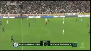 "Samir Muratovic´ Treffer gegen Innsbruck im ""Meisterspiel"""