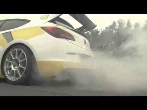 opel adam cup rally car & astra opc cup race car