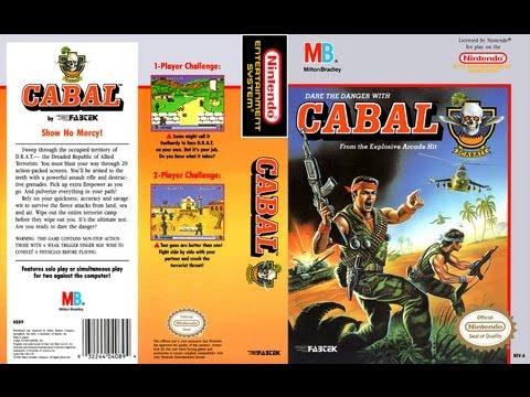 Cabal NES Gameplay Longplay (Полное прохождение)