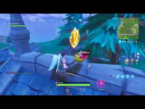 Follow The Treasure Map Found in Snobby Shores FORTNITE MAP LOCATION